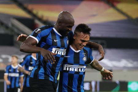Romelu Lukaku, Lautaro Martinez lead Inter back among Europe's elite