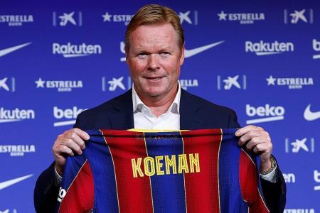 Is Barcelona's new coach Ronald Koeman doomed from the start?