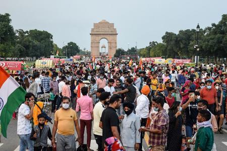 India reports record daily jump of nearly 70,000 coronavirus cases