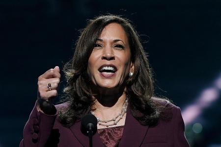 Harris accepts V-P nomination, calls for change on historic night