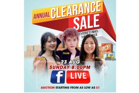 Grab huge savings at Gain City's annual clearance sale
