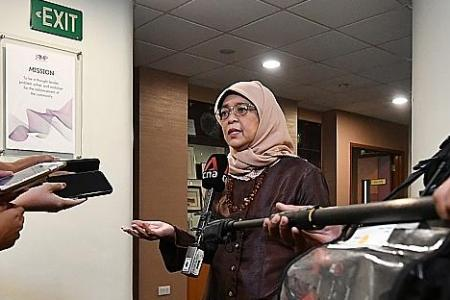 Strong family ties vital to tackling Covid-19 challenges: Halimah