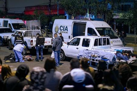 13 killed while fleeing Peru party raided for defying virus curbs