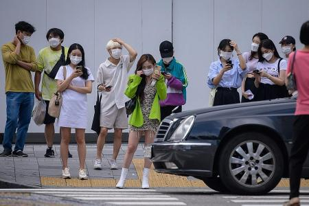 Wearing masks in public places made mandatory in Seoul