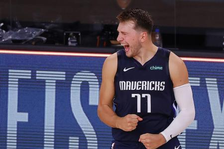 Dallas star Luka Doncic's buzzer-beater ties series against Clippers