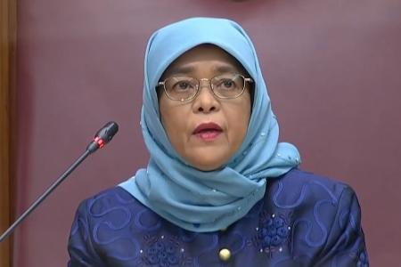 Jobs the top priority in Singapore for the next few years: President Halimah