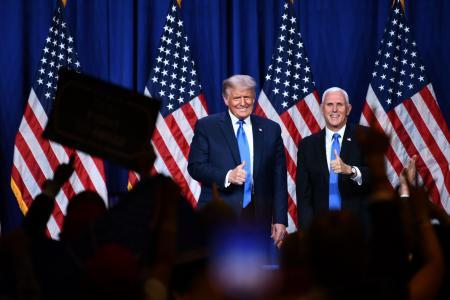 Trump, Republicans paint dire portrait of US under Biden