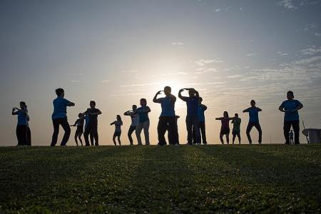 More open spaces available for outdoor exercise classes from Sept 1