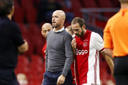 Ajax's Blind feeling fine after collapsing during game