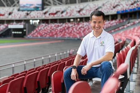 Sports Hub CEO Lionel Yeo can help lift nation's spirit