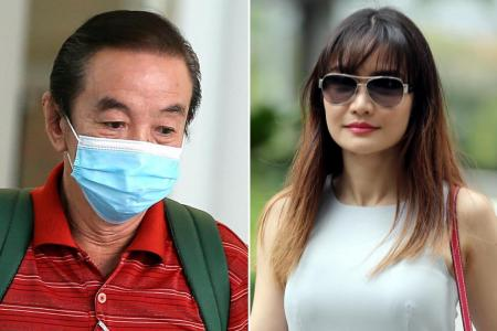 Man, 62, fined for assaulting actress-model