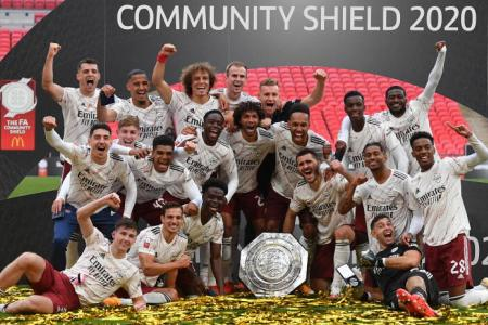 Arsenal pip Liverpool on penalties to claim second trophy in a month