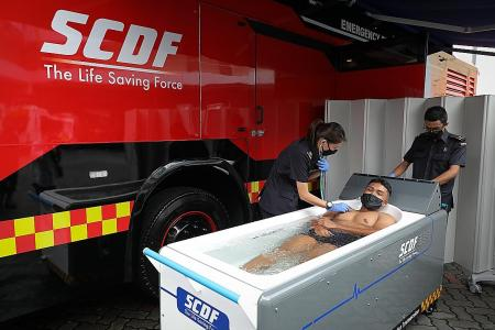 SCDF vehicle taps technology to treat first responders' heat injuries