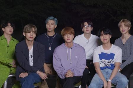 BTS first Korean act to debut at top of US singles charts