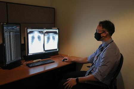 AI tool to detect abnormal chest X-rays quickly