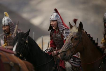 Disney's all-Asian Mulan makes historic small-screen debut