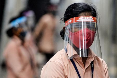 India reports global daily record of new infections
