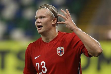 Erling Haaland bags brace in Norway's 5-1 win over Northern Ireland