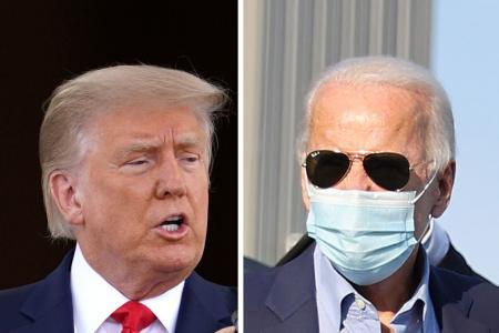 Trump, Biden trade verbal blows as election race hits final stretch