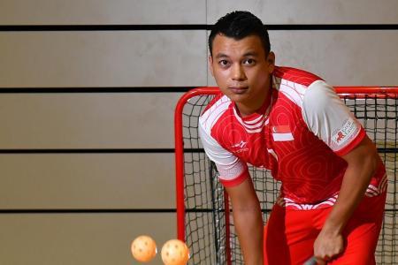 S'pore floorball skipper Syazni delays swansong due to postponed WFC