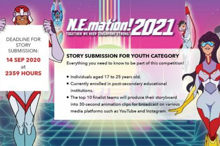 N.E.mation! 2021 is looking for young animators