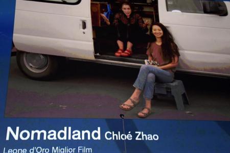 Chloe Zhao's Nomadland wins top prize at Venice film festival