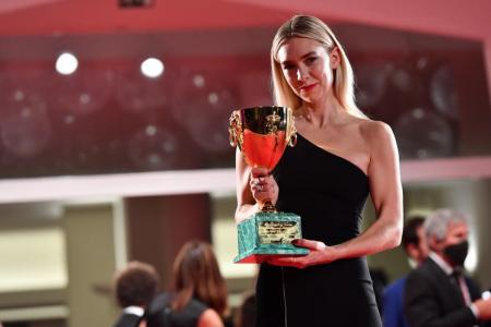 Vanessa Kirby wins best actress at Venice film festival