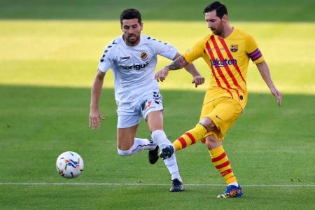 Messi plays 45 minutes of Barcelona's friendly win