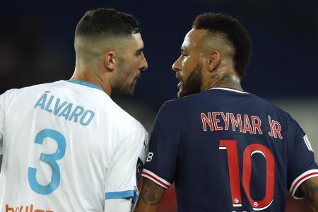 PSG's Neymar accuses Marseille's Alvaro Gonzalez of racism