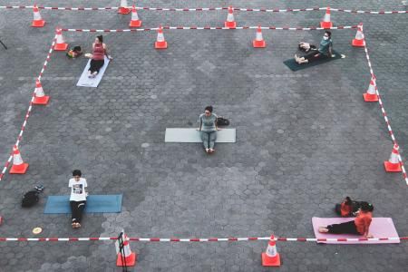 Singapore Sports Hub ready to welcome back fitness enthusiasts