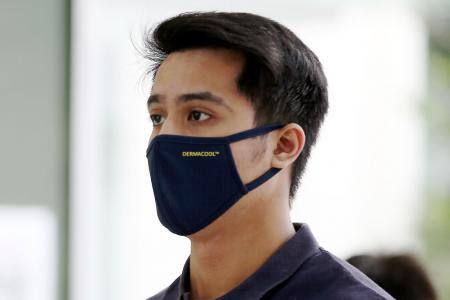 Jail and fine for Aliff Aziz for theft and disorderly behaviour
