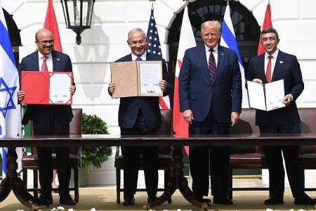 Bahrain, UAE sign accords with Israel; Iran warns of consequences