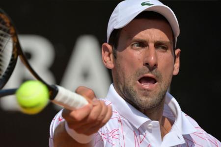 Novak Djokovic cruises to victory in Rome