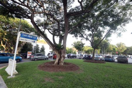Police found the auxiliary police officer at about 6.15am near carpark C2 in East Coast Park.