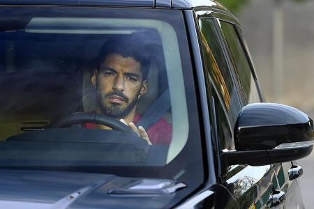 Atletico Madrid-bound Luis Suarez bids emotional farewell to Barcelona