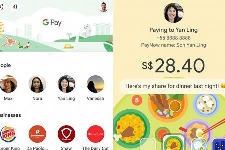 DBS, StanChart offer Google Pay option for transfers to PayNow users
