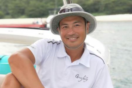 Actor Darren Lim makes a splash with private yacht service