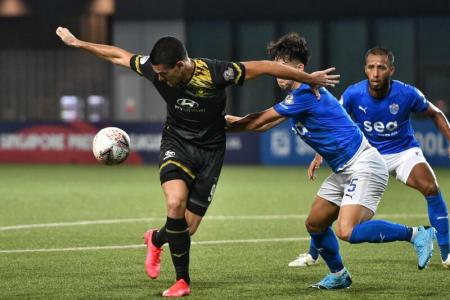 Singapore Premier League could resume in October