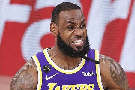 LeBron James helps LA Lakers reach first NBA Finals in 10 years