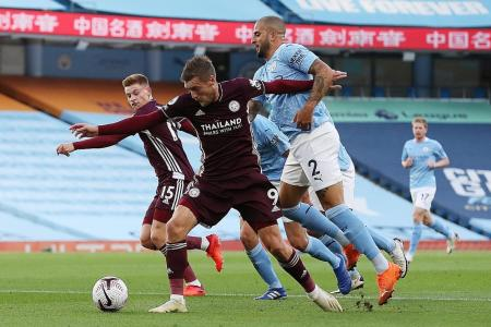 Vardy and Co highlight problems at Man City