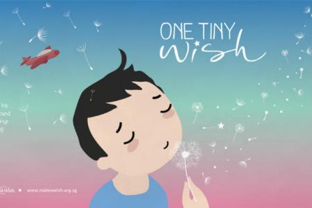 His one tiny wish became a reality