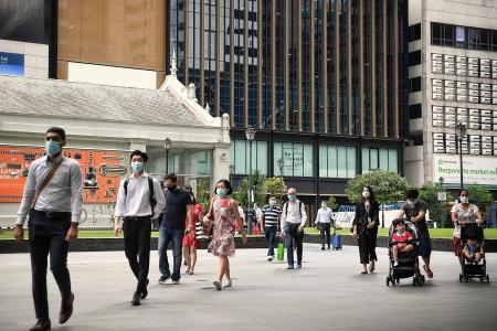 No rush in CBD on Monday as rules eased