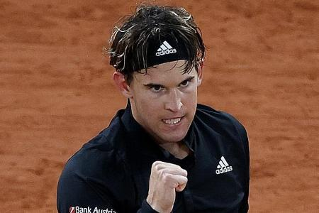 Dominic Thiem aces tough Roland Garros opener against Marin Cilic