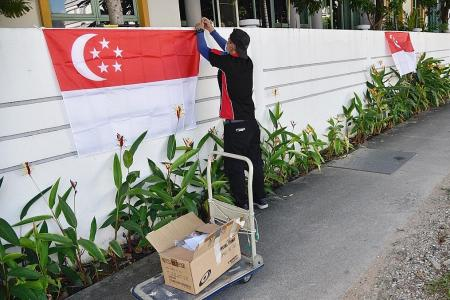 'No one has ever been fined for flying Singapore flag after Sept 30'
