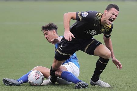 Beware of tackles after return from long break