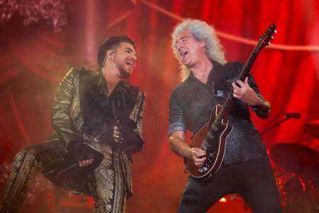 Show must go on as Queen, Lambert release first live album