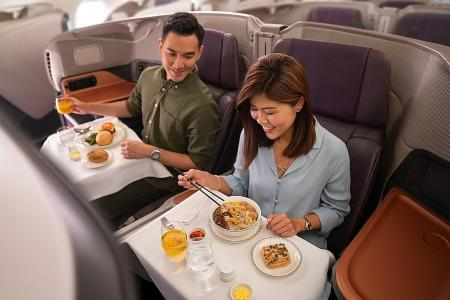 Have a meal in SIA's A-380 jet for $50