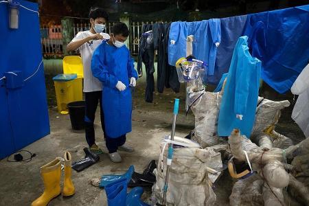 Myanmar volunteers under strain as toll grows