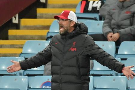Klopp admits Liverpool lost the plot in 7-2 thrashing by Aston Villa