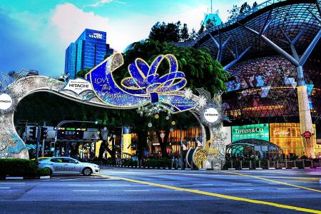 Orchard Road Christmas light-up to be scaled down